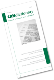 CAN in Automation (CiA): Technical documents